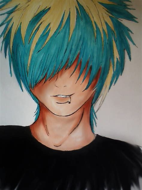 pin by mya on anime hair pinterest emo drawings and 1 learn how to draw hair like this looks cool