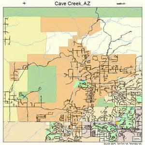 map of creek arizona cave creek arizona map 0411300