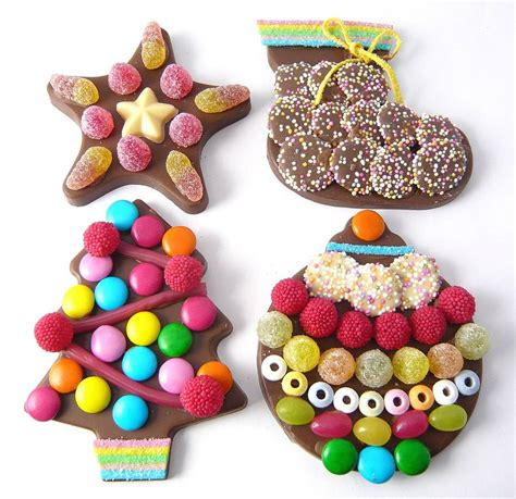 chocolate christmas decorations diy kit by chocolate by