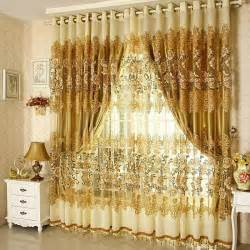 Luxury Blackout Curtains Aliexpress Buy On Sale Curtains Luxury Beaded For Living Room Tulle Blackout Curtain