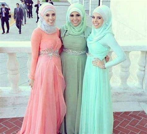 baju pesta perkawinan contoh model hijab untuk pesta perkawinan beserta tutorial