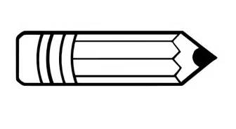 pencil templates free coloring pages of pencil paper