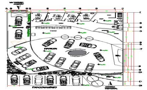 How To Draw A Floor Plan Car Show Room Plan