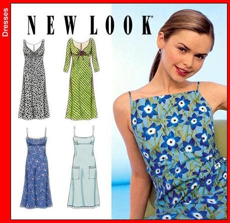 pattern review new look 6866 new look 6969oop misses dress