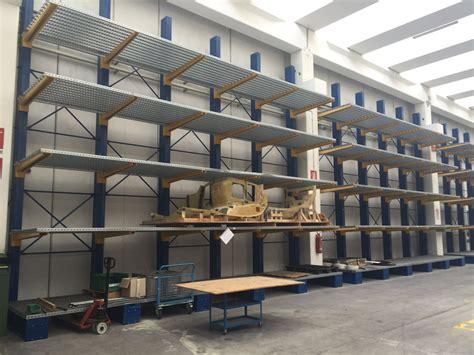 scaffali cantilever cantilever usato sga scaffalature e soluzioni logistiche