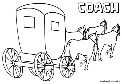 carriage coloring pages coloring pages to download and print