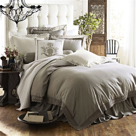 coverlet or duvet high end linens exhibiting luxurious vibes in your bedroom
