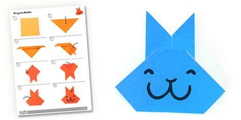 Activity Origami - origami rabbit activity origami rabbit activity paper