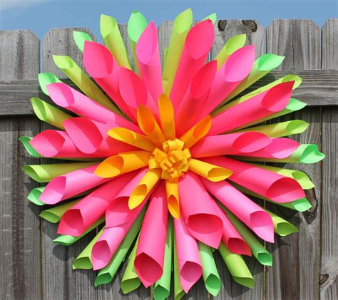 Cp Dahlia dahlia paper flower wreath allfreepapercrafts