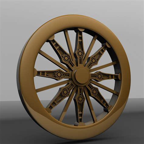 Wheel Of rajesh dhayalan chariot wheel modeling