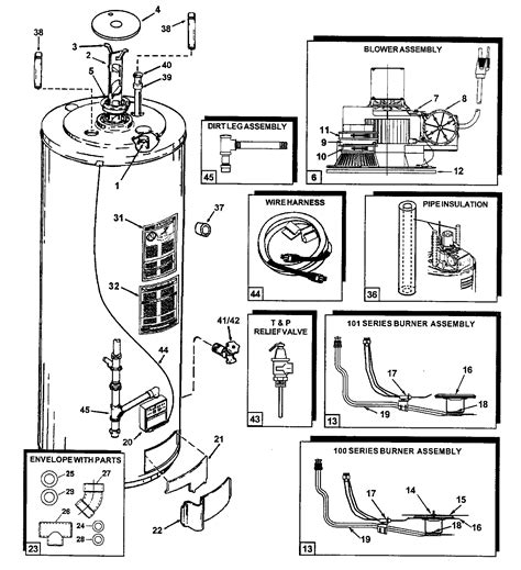 ao smith motor parts diagram ao smith water heater parts list casesoftzone
