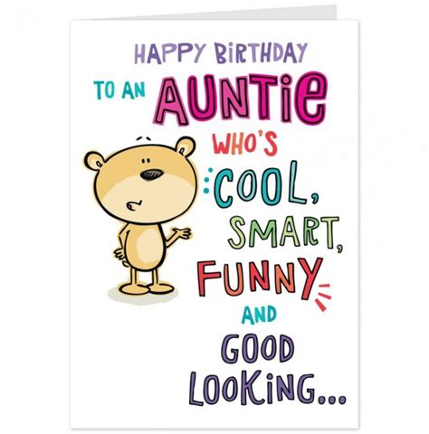 Happy Birthday Auntie Quotes Aunt Sayings Funny Quotes Quotesgram