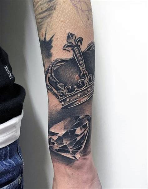 mens crown tattoos 30 most powerful crown tattoos for tattoos era