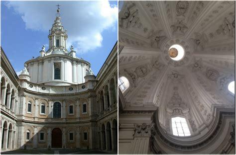cupola di sant ivo alla sapienza terremoto roma chiusa chiesa di sant ivo alla sapienza