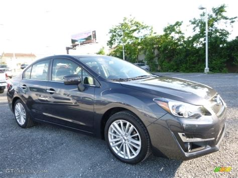 grey subaru impreza 2016 gray metallic subaru impreza 2 0i limited 4 door