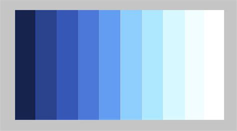 Monochromatic Color by Color Value Scales Inspire Artists To Grow Their Skills
