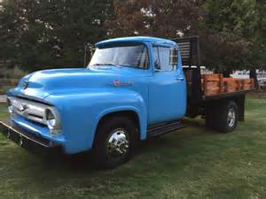 1956 ford f350 dually flatbed truck truck