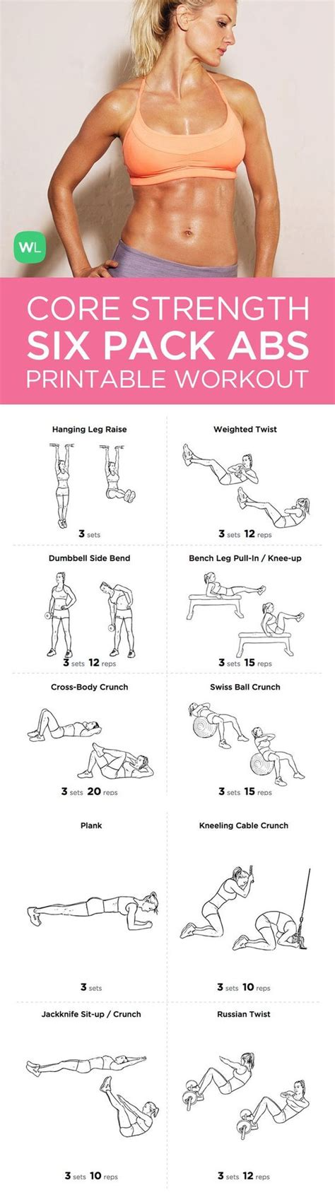 want to get that perfect six pack try this comprehensive abdominal gym workout