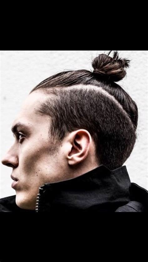 Top Knot Hairstyle Men | 17 best images about men undercut with bun on pinterest