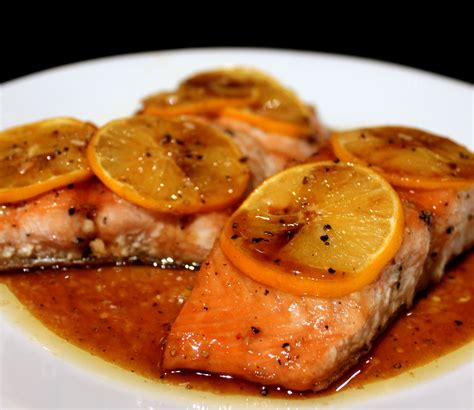 everything in the kitchen sink brown sugar baked salmon april secret recipe club