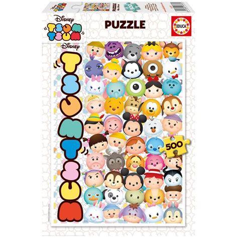 Gantungan Tas Disney Tsum Tsum Big educa puzzle disney tsum tsum 500 par 231 a educa edu16787