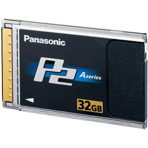p2 panasonic panasonic aj p2c032ag a series p2 card aj p2c032ag b h photo