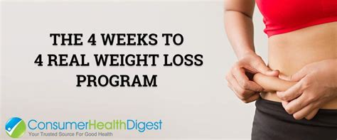 weight loss 4 weeks 5 crucial steps to fast results weight loss 4 weeks