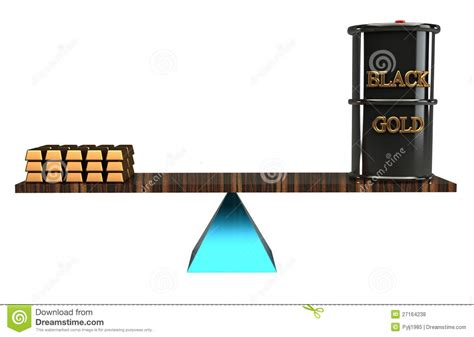 balanced design concept balance concept bullion gold and barrel roll royalty free