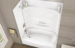 kdts 3060 alcove or tub showers bathtub maax