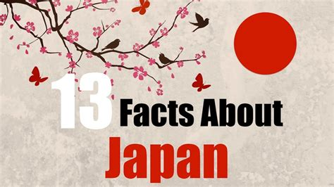 japan facts for 13 facts about japan