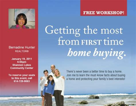 need downpayment assistance home buyer workshop jan 19
