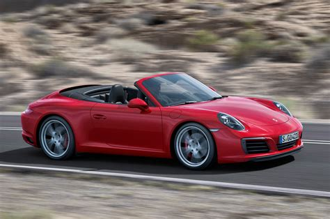porsche carrera 2017 2017 porsche 911 carrera s cabriolet pdk review