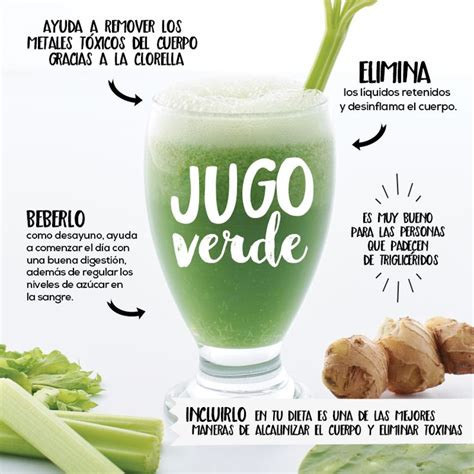 Jugos Detox by Jugo Verde Detox Recipe Food