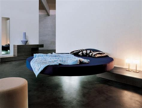 floating bed designs cool round floating bed fluttua c by lago digsdigs