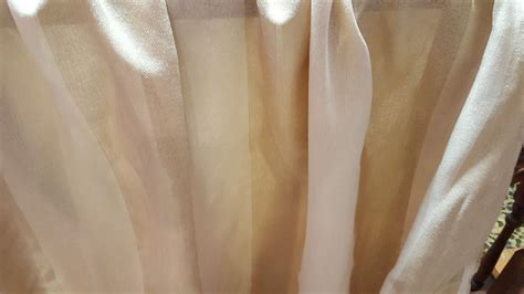 sheer draping fabric outdoor sheer sunbrella gold stripe drapery fabric ebay