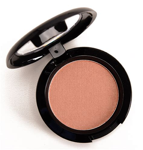 Powder Blush Mac Seri C mac margin powder blush review swatches