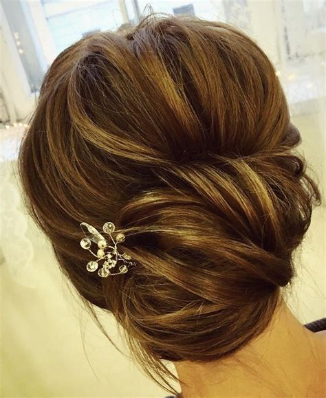 Wedding Day Hairstyles For Hair by This Chic Twist Wedding Updo Hairstyle For Any