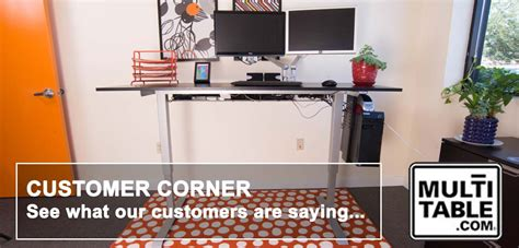 multi table reviews customer corner standing desk reviews multitable