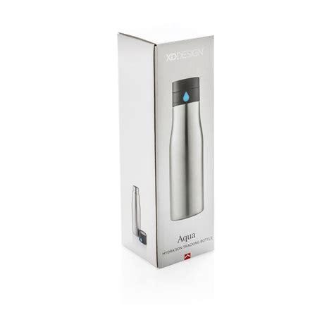 aquac hydration aqua auslaufsichere hydration flasche silber
