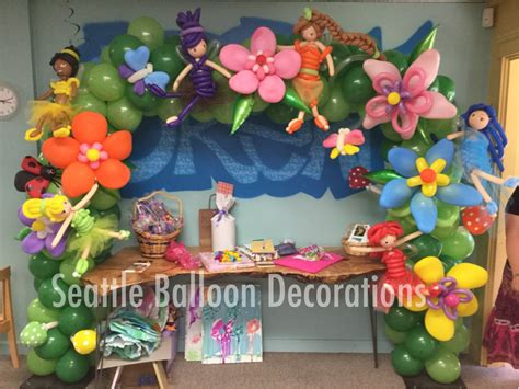 Fairytale Themed Decorations by Arch Seattle Balloon Decorations