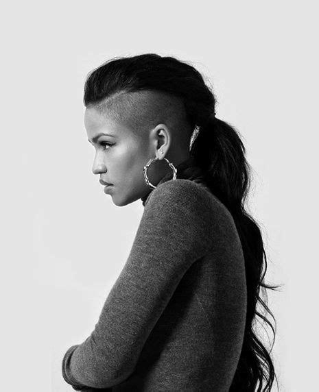 swinging ponytail best 25 undercut ponytail ideas on pinterest undercut
