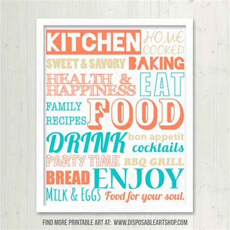 free printable kitchen poster 28 free kitchen posters room 6 free kitchen prints