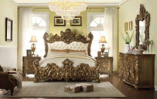 royal bedroom furniture 5 pc hd 8008 homey design golden royal palace bedroom set
