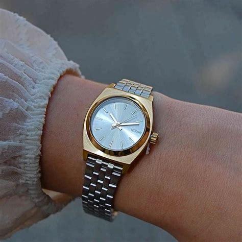 Nixon Small Time Teller small time teller montres femme montres et accessoires
