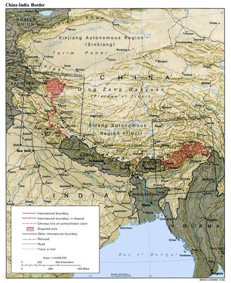 india pak india china border dispute