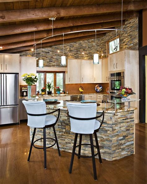 18 best stone kitchen bar island images on pinterest