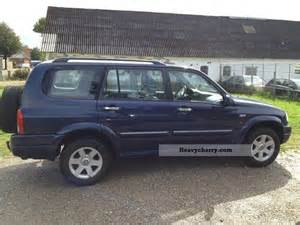 2003 Suzuki Grand Vitara Xl7 Suzuki Grand Vitara 2 7 V6 Xl7 U S Edition Aut 2 Seats