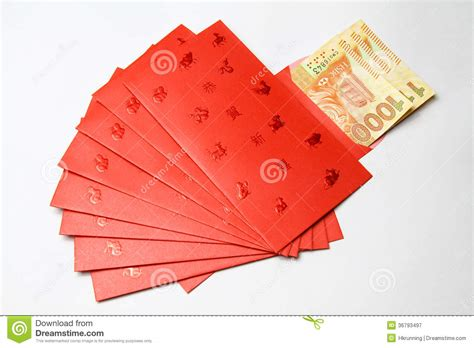 new year traditions lucky money pockets lucky money stock image image of happy