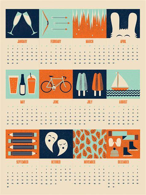 cool creative calendar design ideas   bashooka