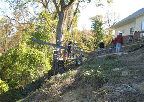 riverside nursing home slope stabilization by in hopewell